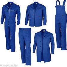 Pantaloni da lavoro Salopette Giacca Tuta camice Combinato Blu 270