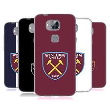 Oficial West Ham United FC 2016/17 Crest Suave con Gel para Huawei teléfonos 2