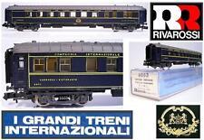 RIVAROSSI 9553 VINTAGE DINING CAR SPEISEWAG CIWL ORIENT EXPRESS 2871 BOX SCALA-N