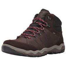 Ecco Ulterra Gumba 2 Mid Gore-Tex Mocha Coffee Mens Suede Nubuck Hiking Boots