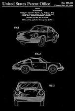 1964 - Porsche 911 Carrera - F. A. Porsche Jr. - Patent Art Poster
