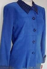 New! Western Royal Blue Black Horse Show Hobby Halter Jacket Size 8 Showmanship
