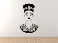 Egyptian Burial Masks #2- Nefertiti Tomb Mummy Decorative Art - Vinyl Wall Decal
