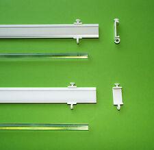 Profi Paneelwagen Aluminium silber weiß für Kunststoff und Holz Gardinenschienen