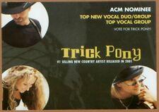 TRICK PONY ACM VOTE CARD