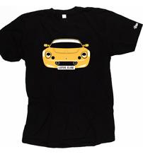 Custom HTees T-Shirt-LOTUS ELISE S1 e S2, Seleziona Colore Auto & Piatto, S-XXXL
