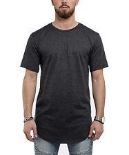 Phoenix Extra-large Rond Tee-shirt Anthracite Haut long T-shirt