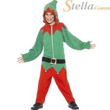 Smiffy's enfants Elfe de Père Noël Helper Noël costume déguisement Noël