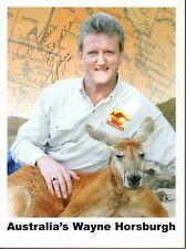 Wayne Horsburgh Autograph Signed Press Photo Australia