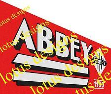 Abbey slurry tanker stickers / decals