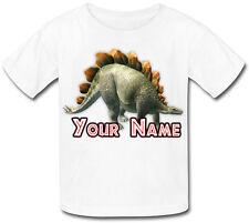 Stegosaurus Dinosauro personalizzata Baby T-Shirt-fantastico regalo per qualsiasi bambino