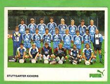 M. immagine Stuttg. Kickers 87/88 con 17 ORIG. autogrammmen