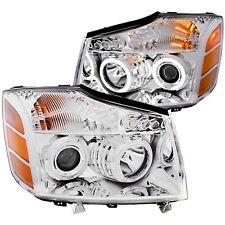 Anzo USA 111094 Projector Headlight Set w/Halo Fits Armada Pathfinder Titan