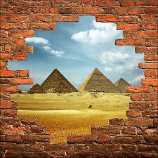 Adesivo parete inganna l'occhio Piramidi ref 795