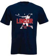 "Francisco Lindor Cleveland Indians ""AIR"" jersey T-shirt Shirt or Long Sleeve"