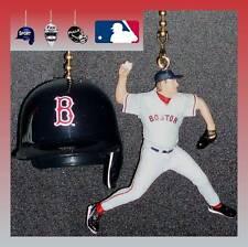 MLB BOSTON RED SOX HELMET & CHOICE OF PLAYER CEILING FAN PULLS -MARTINEZ, ETC...