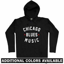 Chicago Blues Music Hoody - Blues Fest Buddy Guy  Sweatshirt - Men S to 3XL