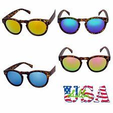 Men Women Vintage Retro Sunglasses Fashion Eye wear Round Sports Mirror Unisex