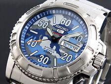 Seiko 5 Sports 100m Military Dial Men's Watch SRP223K1  SRP223K
