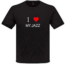 I Love Heart My JAZZ T Shirt S-XXL HONDA Mens Womens car gift