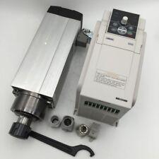 3.5KW Air Cooled ER25 Square Spindle Motor AC380V Motor VFD Inverter Woodworking