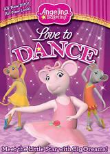 Angelina Ballerina: Love to Dance, Good DVD, Charlotte Spencer, Jules De Jongh,
