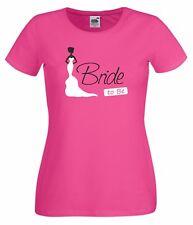 JGA Damen T-Shirt - Bride to be - Frauen Braut Team Hochzeit Heirat Party Neu