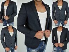 Herren BUSINESS ITALY Style SLIM DESIGNER Blazer PARTY HOCHZEIT Sakko Jacke