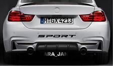 SPORT Vinyl Decal Sticker racing car bumper logo emblem logo auto motorsport