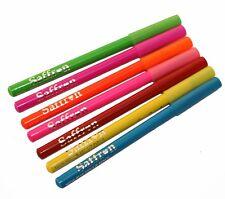 Crayon fluo yeux et lèvres 7 couleurs au choix de Saffron - ou lot de 7 - neon