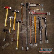 HALLOWEEN FOAM TOYS Cleaver Axe Bat Pipe Wrench Crowbar Hammer Prop Costume LARP