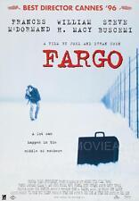 FARGO COEN BROTHERS MOVIE POSTER FILM A4 A3 ART PRINT CINEMA