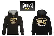Everlast Authentic BOYS Kids Over The Head Hoody Hoodie Jumper Top BLACK 2 3 4 5