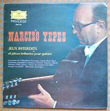Narciso Yepes Jeux Interdits epieces brillantes Deutsche Grammophon 2538 106 LP