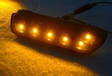 DEPO 1999-05 VW GOLF GTI JETTA IV MK.4 AMBER LED SMOKE BUMPER SIDE MARKER LIGHTS