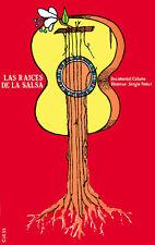 Cuban POSTER.Stylish Graphics.Las raices de la salsa. Guitar  Decor.1482