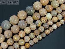 Natural Sunstone Gemstone Round Beads 15.5'' 2mm 4mm 6mm 8mm 10mm 12mm 14mm 16mm