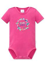 SCHIESSER Baby Body Halbarm TROPI BIRDS Gr 68 74 80 86 92 98 104 Bodies