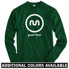 Porto Metro Portugal Long Sleeve T-shirt LS - PT Portuguese Subway - Men / Youth