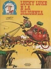 morris + goscinny  LUCKY LUKE E LA DILIGENZA   mondadori  1973