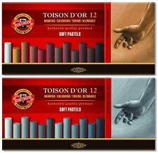 KOH-I-NOOR Softpastell Pastellkreide fettfrei Brauntöne & Grautöne ✓ Qualität