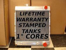 1964-1966 MUSTANG ALUMINUM RADIATOR STAMPED TANKS