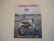 advertising Pubblicità 1972 HARLEY DAVIDSON