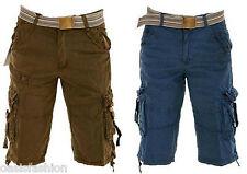 Homme classique été décontracté coton combat armée travail poche cargo pantalon