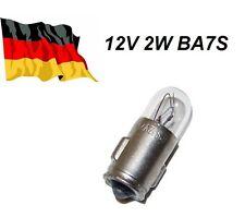 12V 2W BA7S Glühbirne auto Glühlampe Autobirnen motorrad moped Armaturenbrett