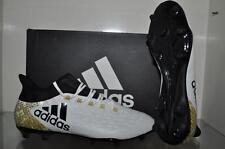 adidas X 16.2 FG AQ4308 Mens Soccer Cleats White/Black/Gold NIB 👁👁❤️❤️❤️⚽️⚽️⚽️