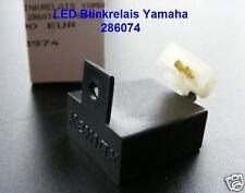 LED blinkrelais électrique yamaha 2-pol, faut un emploi relais