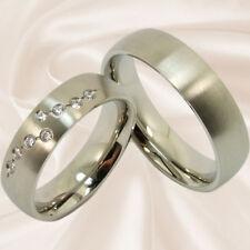 Trauringe Hochzeitsringe Verlobungsringe Eheringe Partnerringe 6 mm mit Gravur