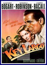 Key Largo   1940's Movie Posters Classic Cinema