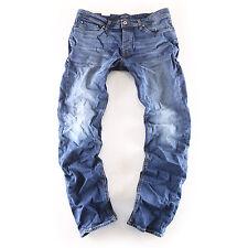 NEW JACK & JONES TIM ORIGINAL Slim Fit Jeans Uomo Pantaloni Blu Blue nuovo